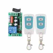 RF Fernbedienung Schalter AC 220 V 1CH 10A Relay wireless Lichtschalter 315 433,92 MHZ Fernschalter Empfänger Sender COM KEINE NC