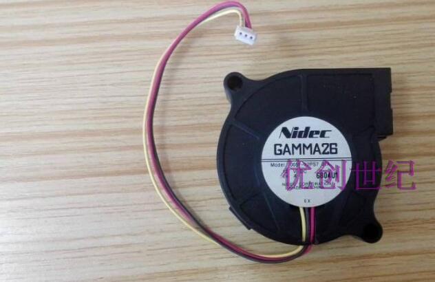 MODEL D05F-12PS7 01A 12 V 5015.24A NIDEC fanMODEL D05F-12PS7 01A 12 V 5015.24A NIDEC fan