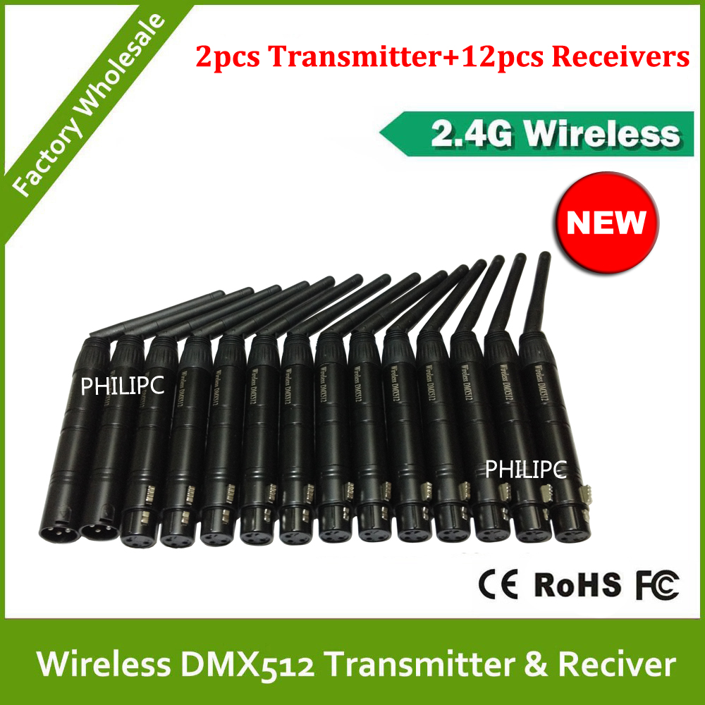 2.4G Wireless Dmx Controller Stage Lighting Signal Receiver & Transmitter 2.4G Wireless Dmx 512 controller dmx512 digital display 24ch dmx address controller dc5v 24v each ch max 3a 8 groups rgb controller
