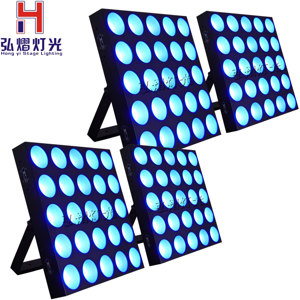 4pcs/lot Panel Matrix Beam 25x10w Moving Head Wash Led Stage Bar Lighting RGB 3IN1 Lumiere Show Light цена 2017