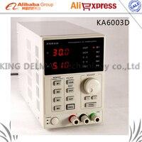 Korad ka6003d Высокая точность лаборатория Программируемый Регулируемый Цифровой Регулируемый Питание DC Питание 60 В/3A 220 В