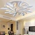New Acrílico Modern led luzes de teto para sala de estar quarto Plafon levou para casa a Iluminação da lâmpada do teto para casa iluminação luminárias