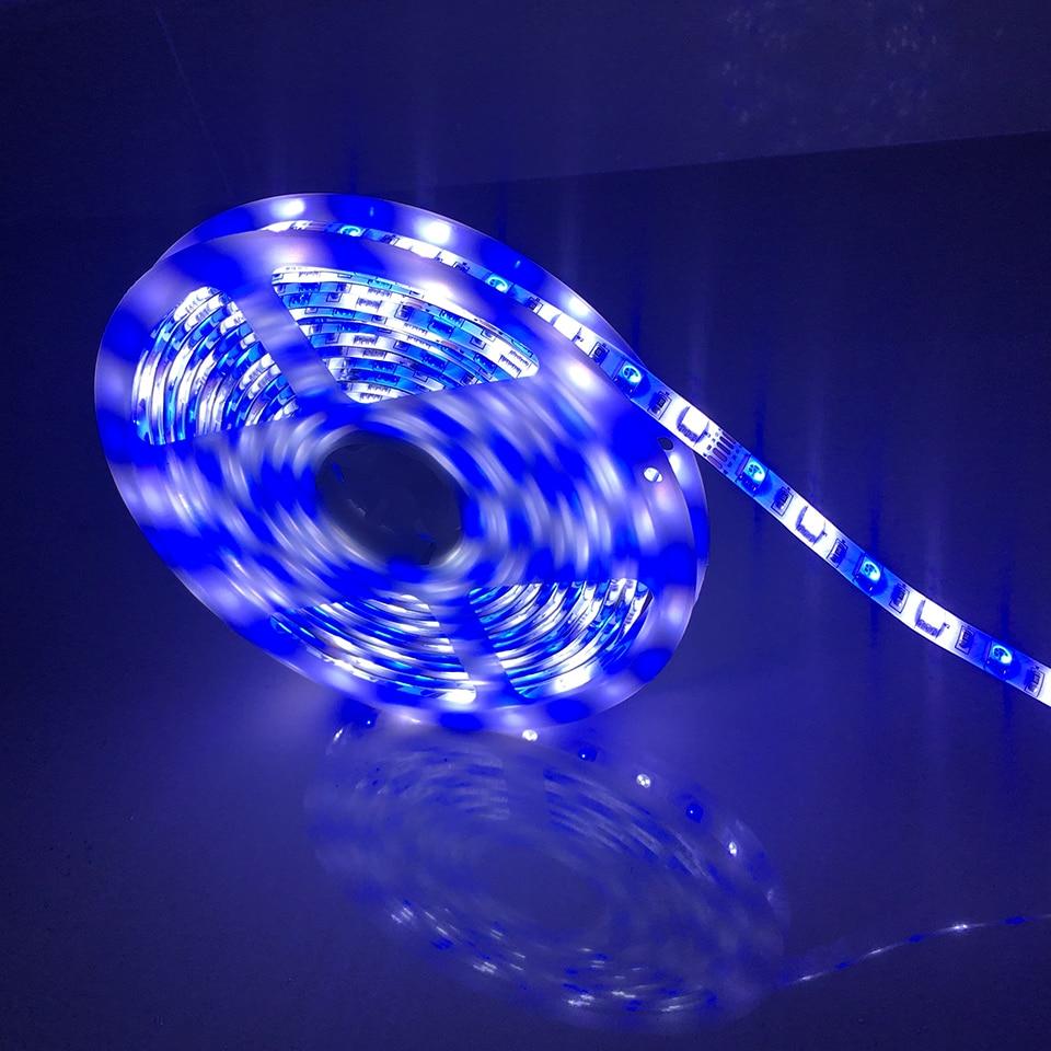 DC12V Waterproof IP65 LED Strip 5050 RGB Warmwithe/ RGB White 60LEDs/m Flexible Light 5050 led Strip Background Atmospher Decor