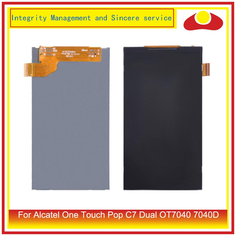 For <font><b>Alcatel</b></font> One Touch Pop C7 Dual OT7040 7040D <font><b>Lcd</b></font> Display Screen Pantalla Replacement image
