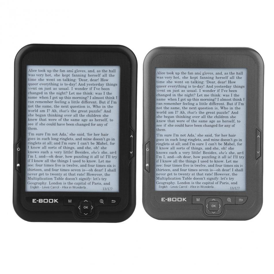 Lecteur Mp3 6 pouces écran d'encre électronique lecteur numérique ebook intégré 8 GB/16G rom et Support carte SD (Max 64 GB) étui ebook gratuit - 2