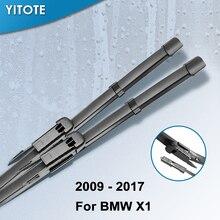 YITOTE стеклоочистителей для BMW X1 E84 F48 подходит боковой зажим/кнопка оружия 2009 2010 2011 2012 2013