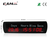 [Ganxin]1.8'' LED Large Digital Countdown Clock Event Timer day clock With Remote