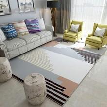 Nordic Modern Carpets For Living Room Home Bedroom Rug Bedside Blanket Anti-slip Soft Dinning Carpet Kids Study Chair Rugs