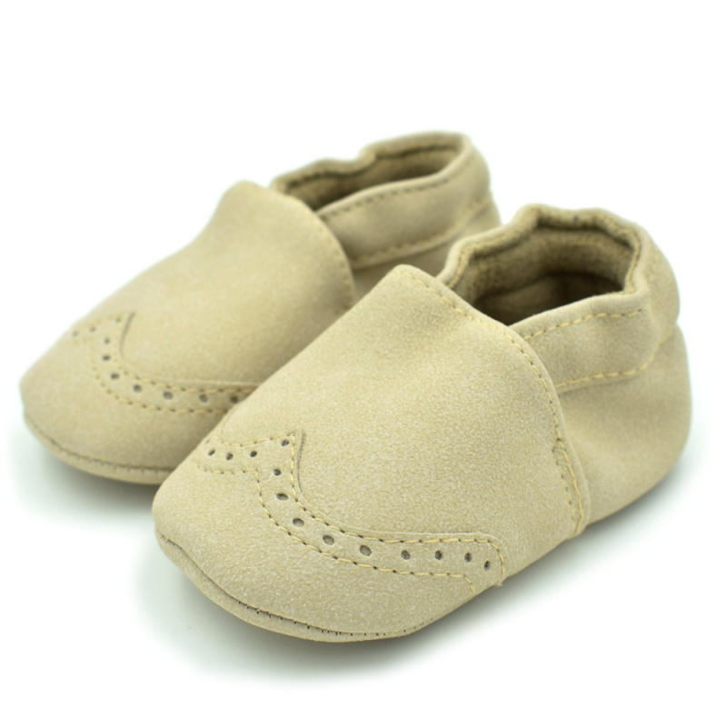 WEIXINBUY Spring Flock leather Baby Moccasins Infants Baby Toddler Shoes Shallow born Babies Shoes Sneakers First Walkers
