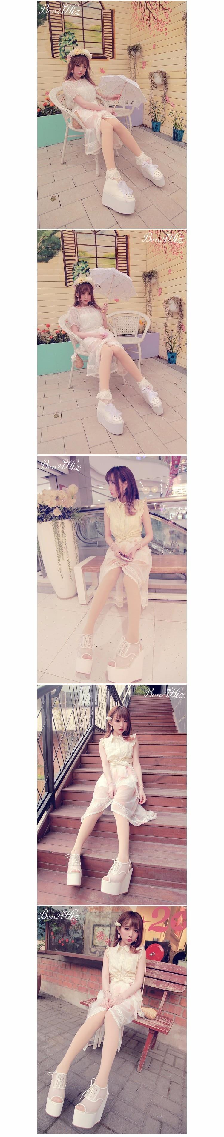 Милая длинная юбка принцессы в стиле Лолиты; BoBON21; эксклюзивный дизайн; Праздничная короткая длинная юбка феи с принтом; B1190