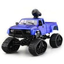 1/16 2.4G 4WD RC Car Military Truck with Front LED Light Racing Car Climbing Remote Control Carro Off Road RC Electric Car
