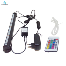 DC12V LED Aquarium Fish Tank Light Tube Bar Light Underwater Submersible Air Bubble Safe Lighting remote controller 46cm 18pcs led aquarium fish tank light tube bar light underwater submersible air bubble safe lighting us eu uk saa plug