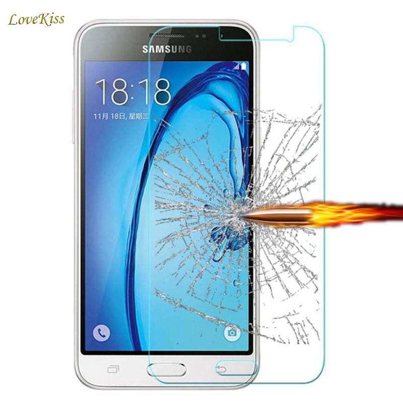Tempered Glass Screen Protector Film For Samsung Galaxy Grand J5 Prime J1 Mini J3 A5 A3 2016 I8552 Core II G355 G360 G530 Cover