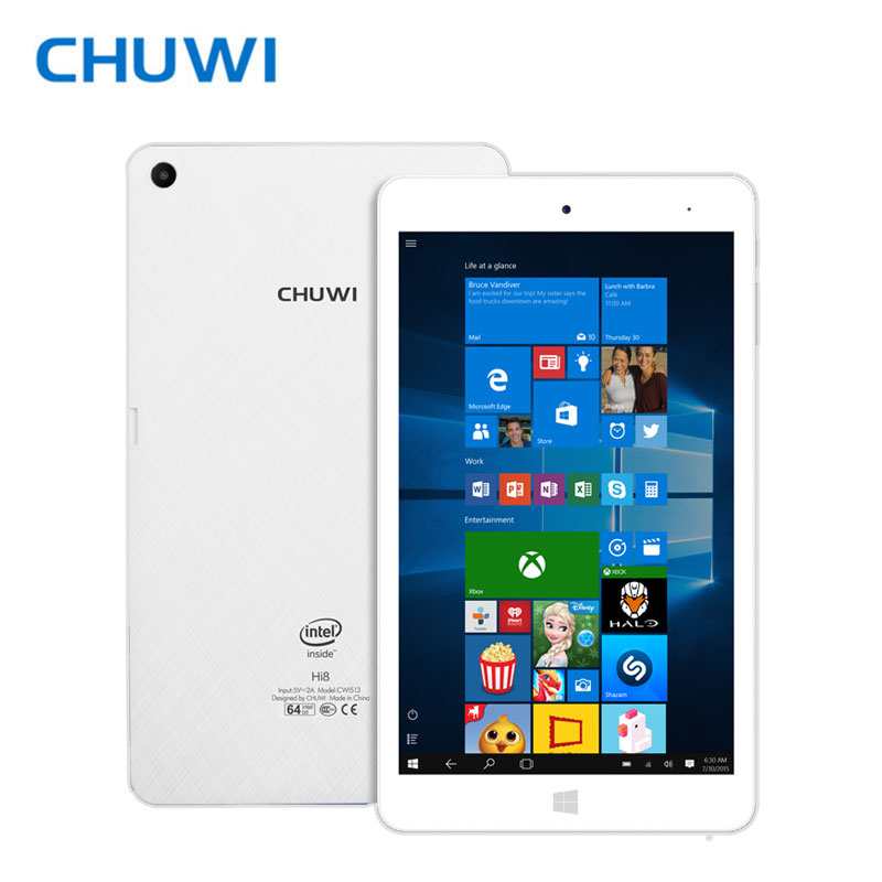CHUWI Official CHUWI Hi8 Pro Dual OS Tablet PC Windows 10 Android 5 1 Intel Atom