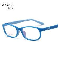 d10e2ca540 KESMALL New Fashion Children Prescription Eyewear Boy Girl TR90 Glasses  Frame With Myopia Lens Anti Blue