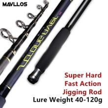 Mavllos Beach Fishing Telescopic Rod 2.7M 3.0M 3.3M 3.6M Lure Weight10-80g/40-120g Super Hard Carbon Saltwater Rock Fishing Rod