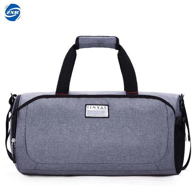 c0e16027b9f Waterproof Shoulder Sport Gym Bag for Shoes Storage Women Fitness Yoga  Training Bags Men s Gymnastic Handbag