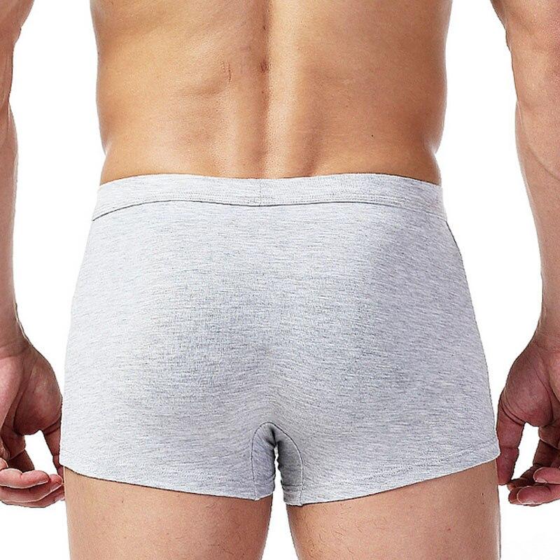 Wolf Underkläder Män Bomull Roliga herrar Boxershorts Pouch Bulge - Underkläder - Foto 4