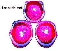 Diodos de Laser cabelos Crescerem Capacete 68 Médicos Solução da Perda de Cabelo Tratamento Cabelo Rebrota Rápida Cap + vidro Livre de Laser LLLT