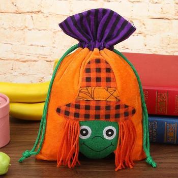 Regalo di Halloween Sacchetto Non Tessuto Per Bambini Con Coulisse Caramella di Zucchero Contenitore Titolare Della Borsa Festival di Forniture Decorazioni Del Partito