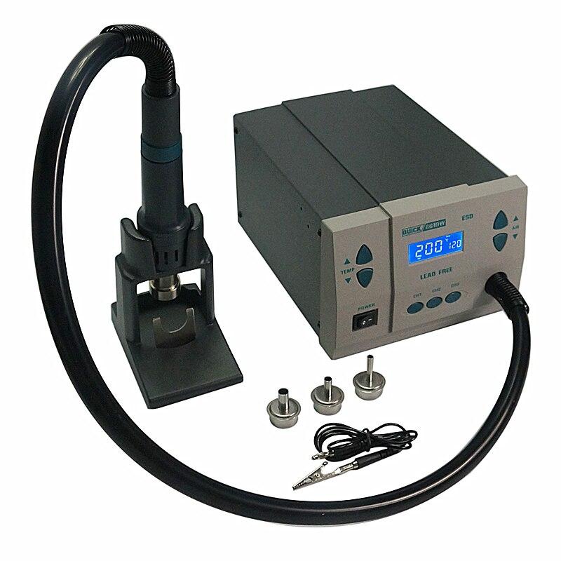 QUICK Spot 861DW Hot Air Rework station soldering machine quick spot 861dw hot air rework station soldering station