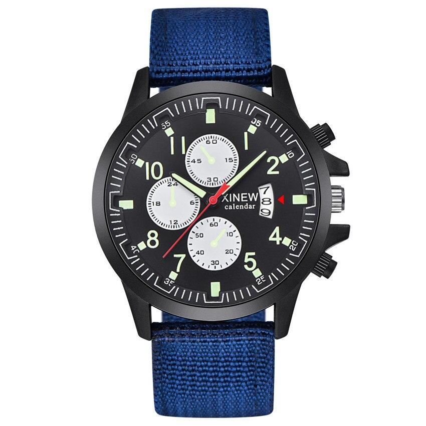 Fashion Sports Men Male Quartz Wristwatch Gift Military Sport Luxury Casual Quartz Analog Wrist Watch Band Bracelet 4A