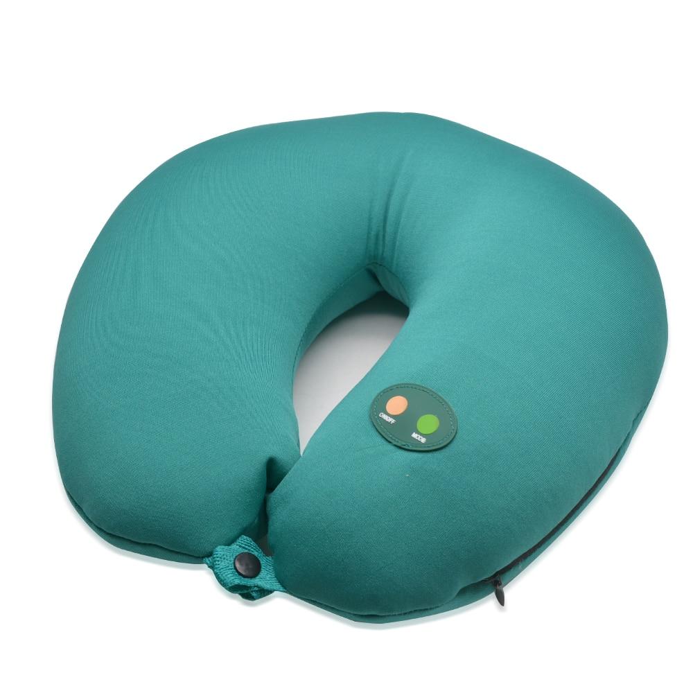 1Pcs Massage Pillow Neck Massage Pillow Electric Cervical Vertebra Massage Instrument Massage Device Health Care Products C750