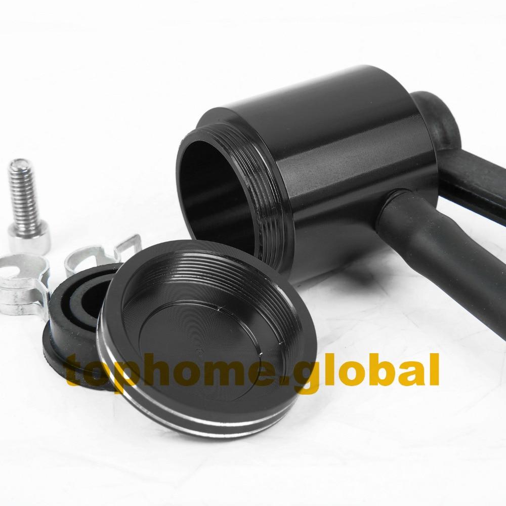 CNC Oil Tank Fluid Tank Pump Cut Motorcycle Universal Reservoir For Suzuki GSF 600 S 250 BANDIT GS500 GS500E GS500F GSX400