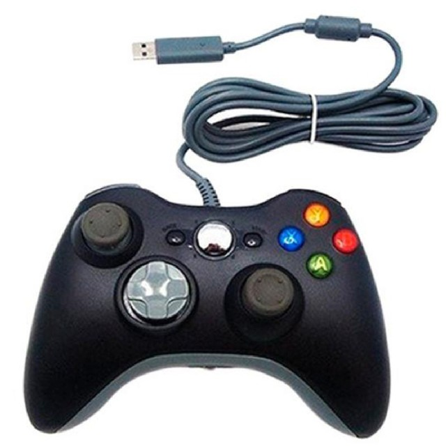 Durable Comfortable Wired Game Pad Controller For Microsoft Xbox360 Pc