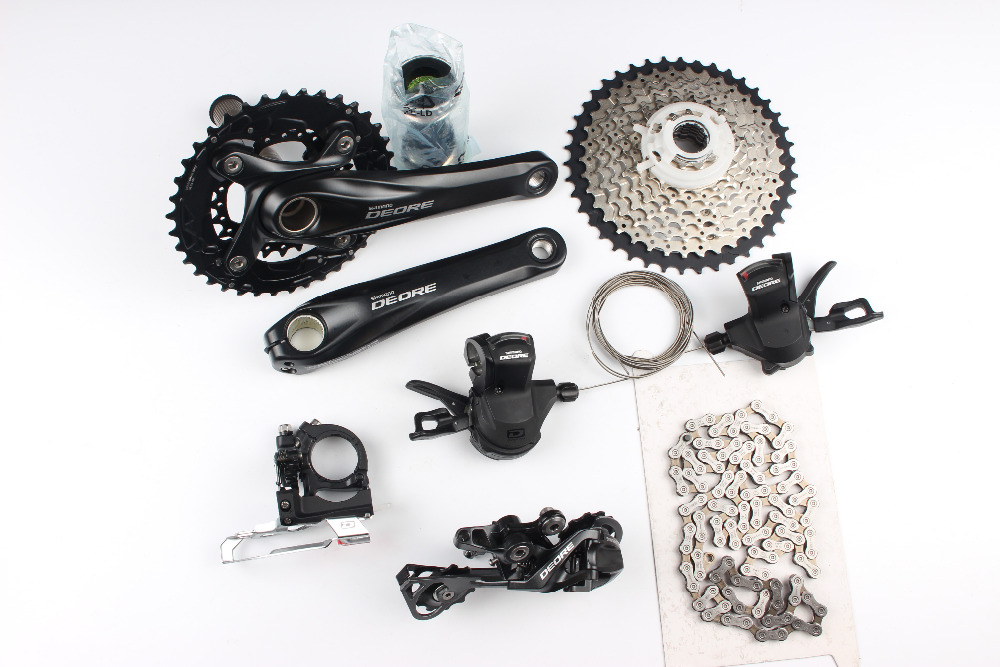Shimano Deore M610 M615 2x10 скорость 170 мм 38-24 т MTB список групп Group Set Комплект 20 s скорости велосипед части bicicleta