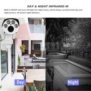 Image 3 - OwlCat מלא HD 1080P PTZ IP מצלמה חיצוני 4X 10X ממונע לסובב פאן הטיה זום Varifocal 2MP לילה Onvif