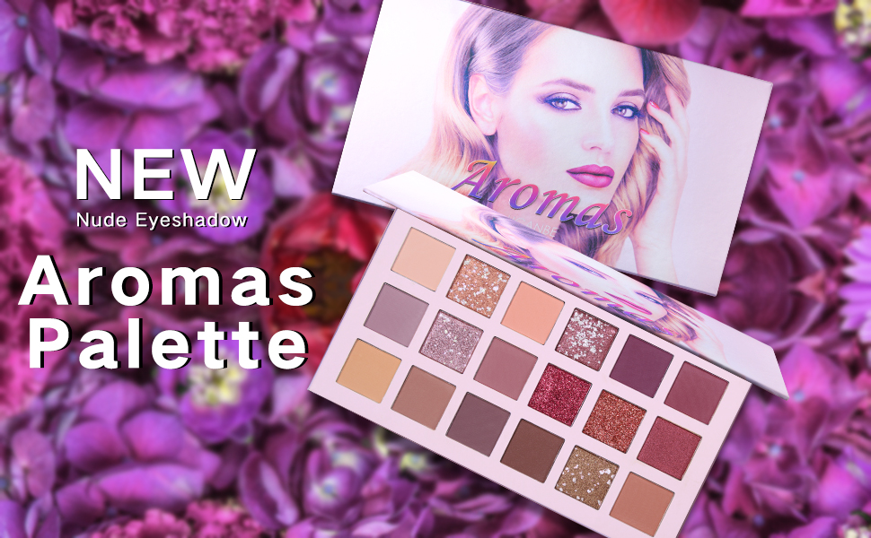 THE NEW NUDE PALETTE Matte Eyeshadow Palette Shimmer Palette Same Color With Hudas Matte Smokey Contour Makeup