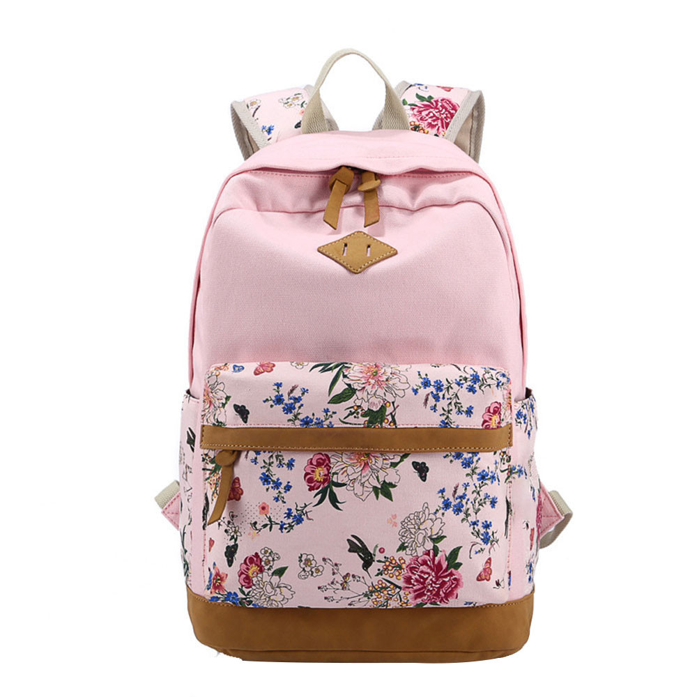 Rucksack Rosa Backpack School Bags For Teenage Girls Boys Women Unisex Fashion Canvas Backpack Rucksack School Satchel Bag Bookbag 2018 In Backpacks From Luggage