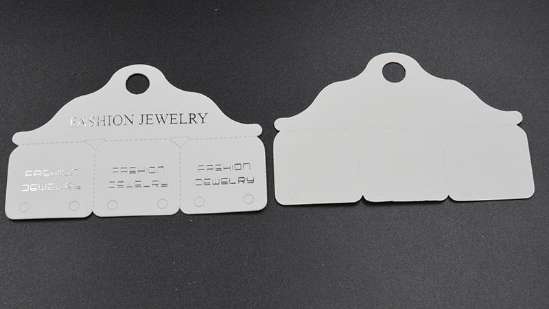 FLTMRH   multi style ring folded labels white/kraft handmade with love ring price labels jewelry  labels 82*53mm