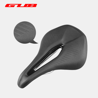 GUUB 1180 258g Bicycle Saddle Hollow Breathable Comfortable Bike Carbon Seat MTB Microfiber Ultralight Highway Road Cycling