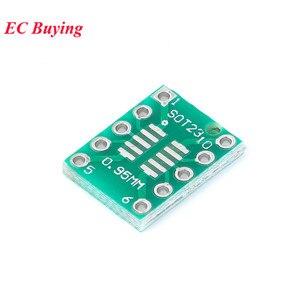 Image 3 - 35 ชิ้นบอร์ด PCB SMD Turn To DIP Adapter Converter แผ่น SOP MSOP SSOP TSSOP SOT23 8 10 14 16 20 24 28 SMT DIP
