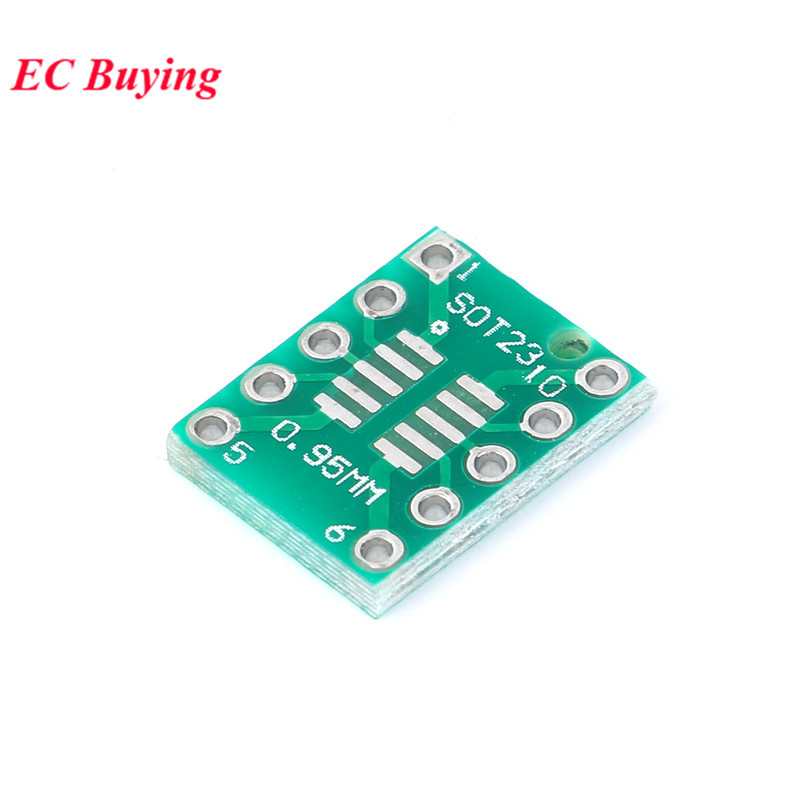 Image 3 - 35pcs PCB Board Kit SMD Turn To DIP Adapter Converter Plate SOP MSOP SSOP TSSOP SOT23 8 10 14 16 20 24 28 SMT To DIP-in Integrated Circuits from Electronic Components & Supplies