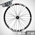 ELITE MTB Колесная пара 27 5er Plus  колесо для горного велосипеда шириной 50 мм без трубки  готовое для всех горных велосипедов AM DH