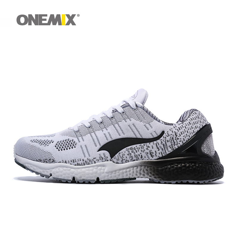Onemix men's running shoes athletic shoes good sneakers comfortable walking shoes unisex light sports shoes size 36-45 цены онлайн