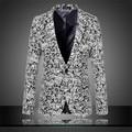 Зима кашемир костюм для мужчин шерсть свободного покроя платье мужской пиджак одной кнопки куртка большой размер ml XL XXL XXXL 4XL 5XL 6XL A0505
