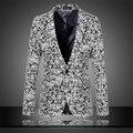 Invierno de la cachemira traje para hombre vestido informal de lana para hombre chaqueta de un solo botón chaqueta tamaño grande ml XL XXL XXXL 4XL 5XL 6XL A0505
