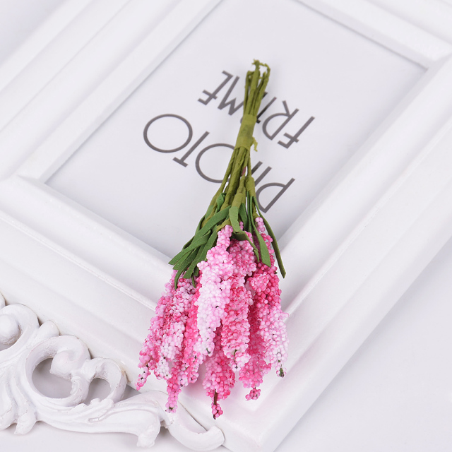 Colorful Artificial Lavender Flowers Set