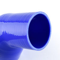 45 Degree Silicone Hose 102mm 4 4 inch Racing Elbow Coupler Pipe