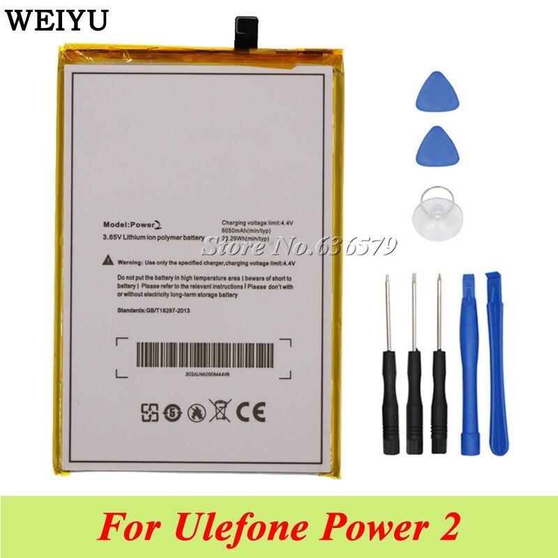 For Ulefone Power 2 Battery Batterie Bateria Accumulator Akku 6050mah disassemble Tools Agreeable Sweetness Cellphones & Telecommunications
