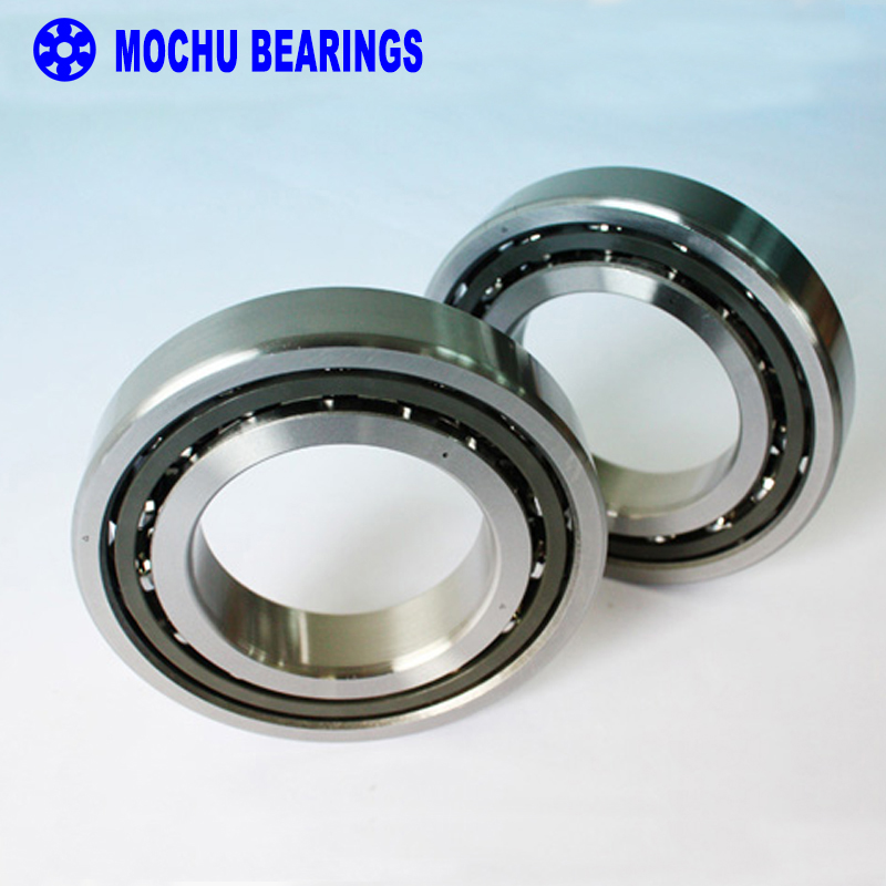 1Pair MOCHU 7017CTYNDBLP5 7017 7017C 85x130x22 DB Configuration Angular Contact Bearings Speed Spindle Bearings CNC ABEC-5 1pcs 71822 71822cd p4 7822 110x140x16 mochu thin walled miniature angular contact bearings speed spindle bearings cnc abec 7