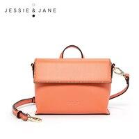 JESSIE JANE Designer Brand Fashionable Leather Women Messenger Bags Shoulder Bag Handbags 1736