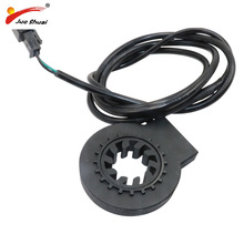 цена на Free shipping PAS System Electric Bicycle Bike Speed Sensor Black Pedal Assistant Sensor Ebike Conversion Kit Parts Accessories