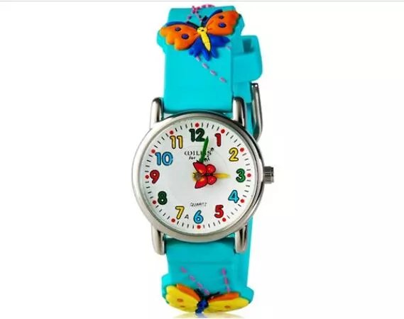 WILLIS Waterproof Kid Watches Children Silicone Wristwatches Butterfly Brand Quartz Wrist Watch Fashion Casual Relogio Watch