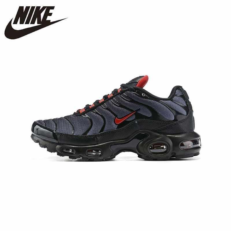 Nike air max plus tn original nova chegada dos homens tênis de corrida respirável esportes ao ar livre leve # CI2299-001