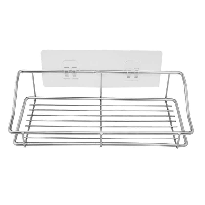 Image 4 - Kitchen Stainless Steel Storage Rack Towel Plate Drain Rack Dish Removable Holder Kitchen Bathroom Tableware Sink Dish Storage-in Racks & Holders from Home & Garden